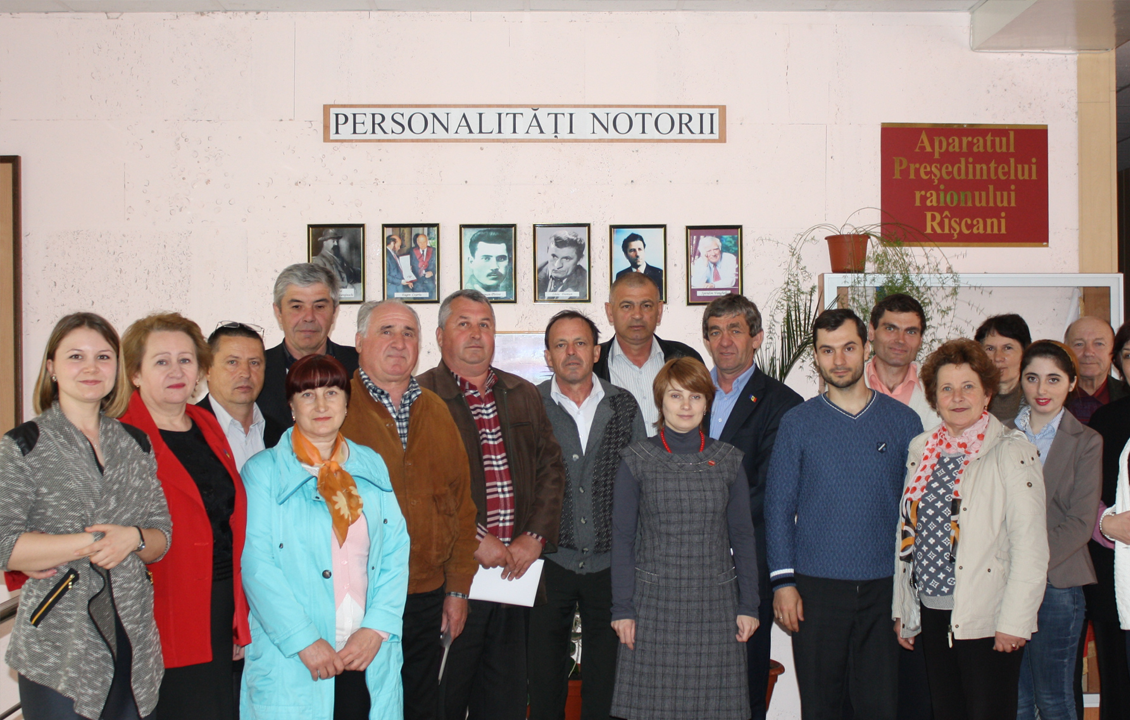 Round Table with the Representatives of Local Public Administration in TB Control in Riscani, Moldova