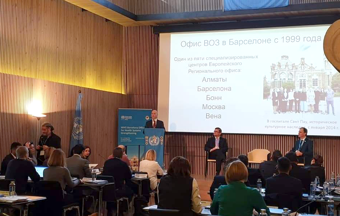 The fourth WHO Barcelona course on Health Systems Strengthening for Improved TB Prevention and Care took place from November 26th-29th, 2019.