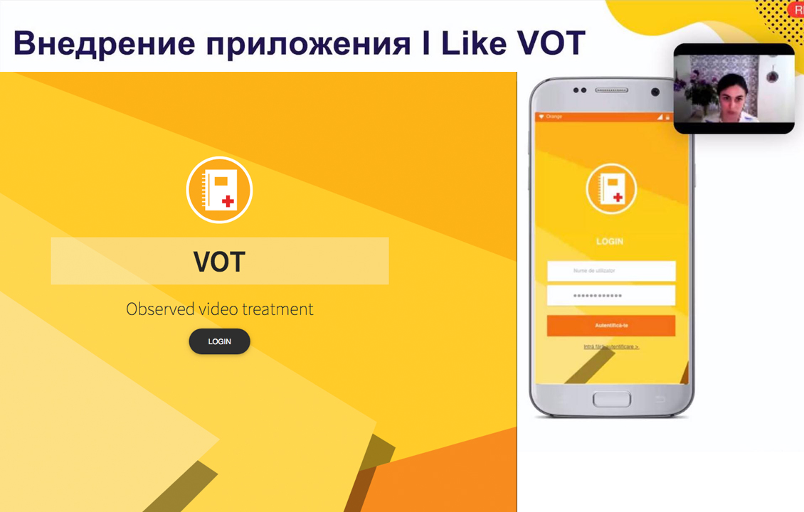 #ILikeVOT App Presented to the Global Fund Regional Partners