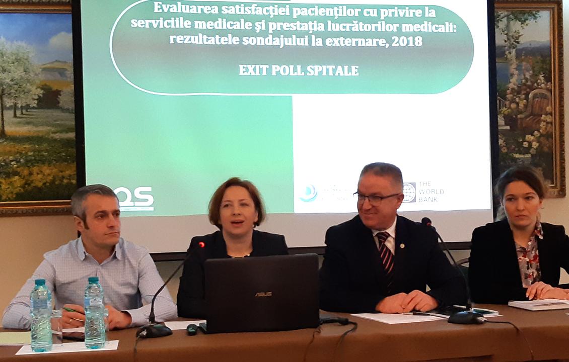 Pacienții din Moldova, mulțumiți de calitatea serviciilor medicale și prestația lucrătorilor medicali