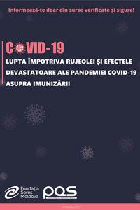 Lupta împotriva rujeolei și efectele devastatoare ale pandemiei COVID-19 asupra imunizării