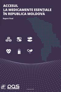 Studiu: Accesul la medicamente esențiale în Republica Moldova