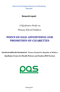 Point-of-sale advertising and promotion of cigarettes
