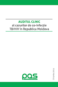 Chart audit of cases with TB/HIV co-infection in Moldova