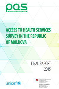 Access to health services survey in the Republic of Moldova