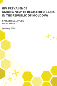 HIV Prevalence among New TB registered Cases in the Republic of Moldova
