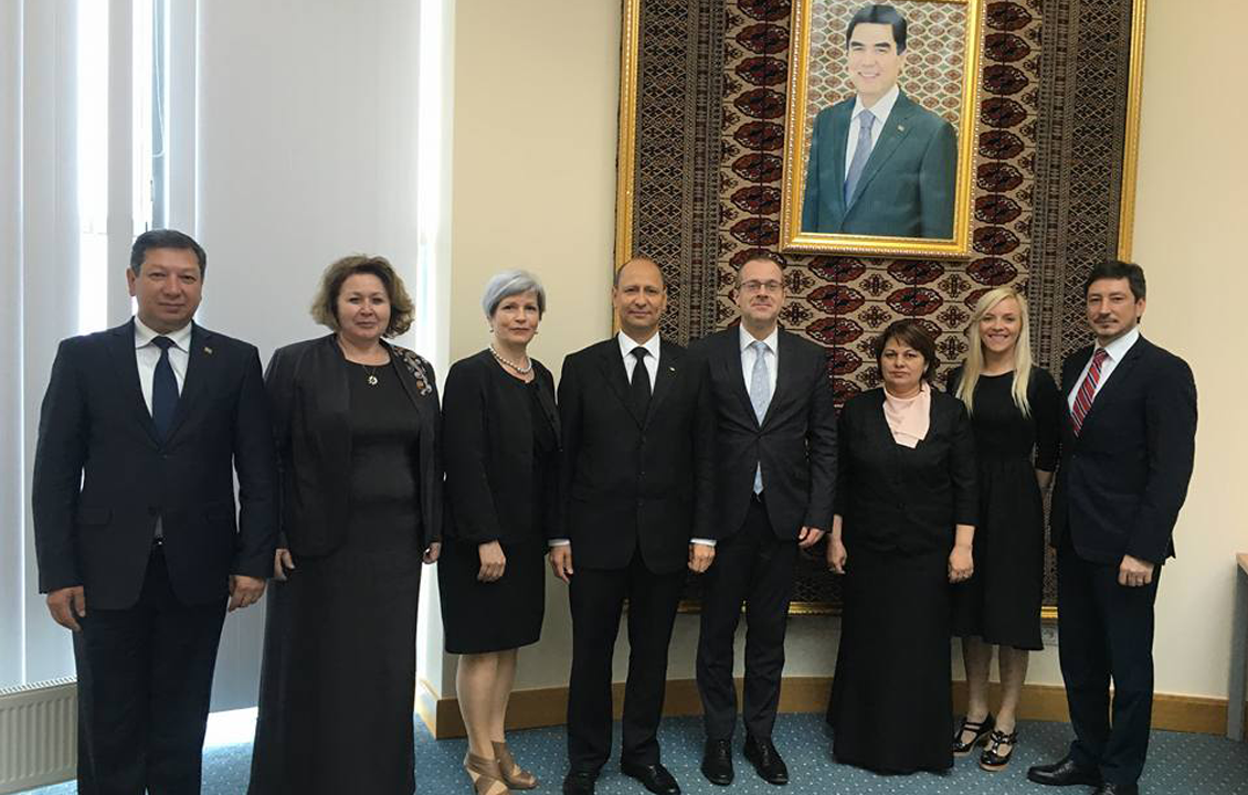 WHO and PAS Center undertake high-level mission on health system strengthening for effective TB and DR-TB prevention and care in Turkmenistan