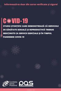 Studiu științific care demonstrează că serviciile de sănătate sexuală și reproductivă trebuie menținute ca servicii esențiale și în timpul pandemiei COVID-19